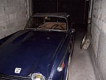 TRIUMPH TR5 2.5 injection cabriolet Bleu occasion