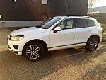 VOLKSWAGEN TOUAREG II 3.0 V6 TDI 262ch Carat Exclusive SUV Blanc